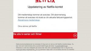 Netflix svindel