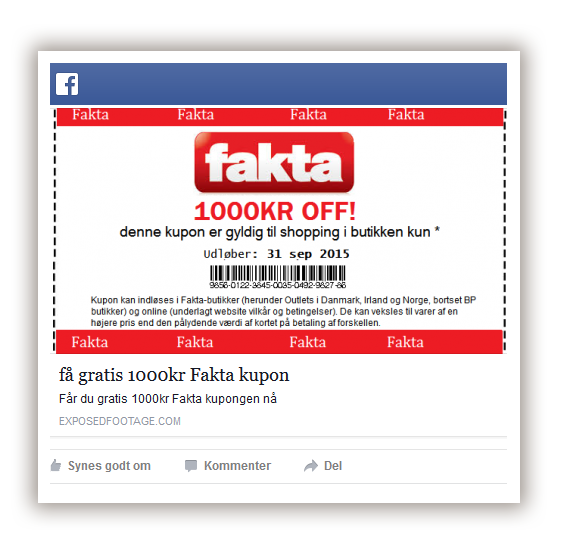 fakta virus på facebook